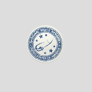 Space Academy Seal Mini Button