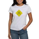 Baby Bump Below Women's T-Shirt
