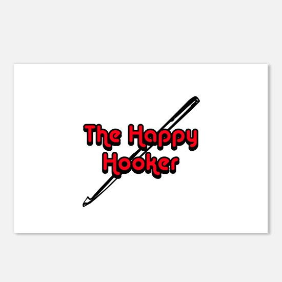The Happy Hooker Postcards (Package of 8)