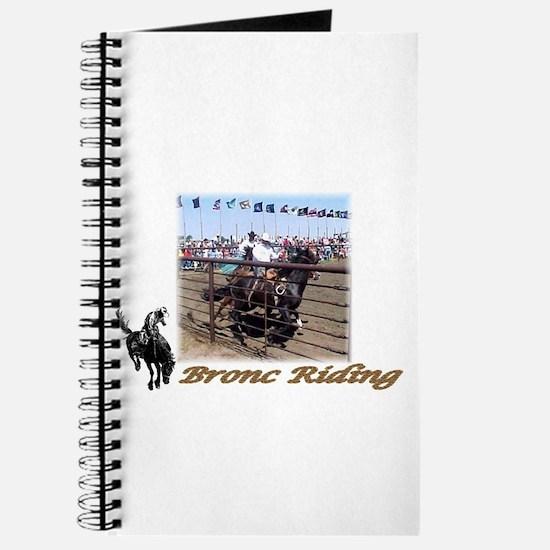 Bronc Riding 4 Journal