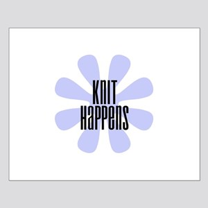 Knit Happens Small Poster