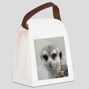 Meerkat001 Canvas Lunch Bag