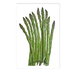 Fresh Asparagus Postcards (Package of 8)