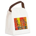 Space Cats Canvas Lunch Bag