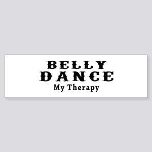 Belly Dance My Therapy Sticker (Bumper)