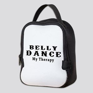 Belly Dance My Therapy Neoprene Lunch Bag