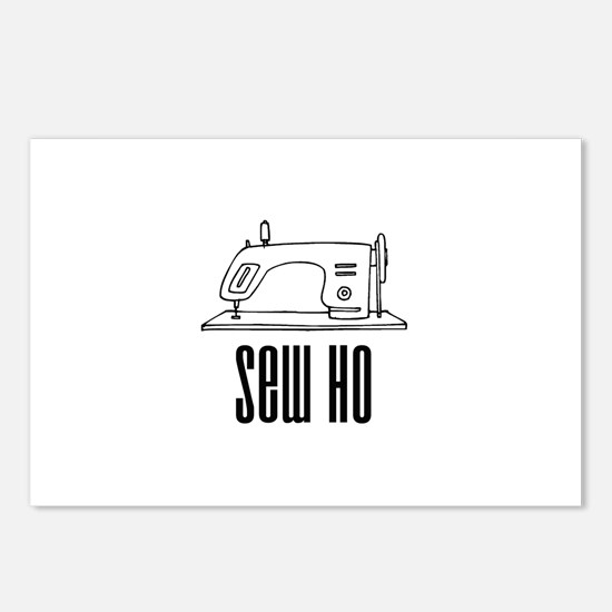 Sew Ho - Sewing Machine Postcards (Package of 8)