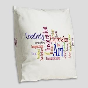 Artists Word Cloud, Creativity, Expression! Burlap