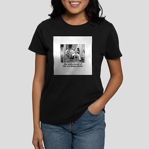Sisterhood of the Clicking St Women's Dark T-Shirt