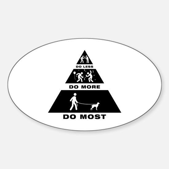 Bracco Italiano Sticker (Oval)
