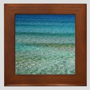 Ocean001 Framed Tile
