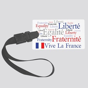 Vive La France Large Luggage Tag