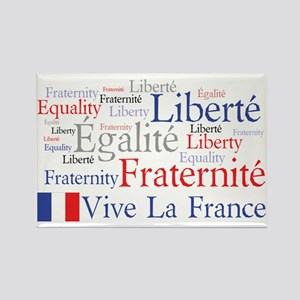 Vive La France Rectangle Magnet