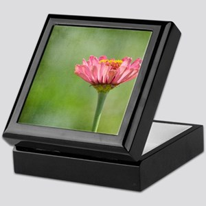 Zinnia Flower Keepsake Box