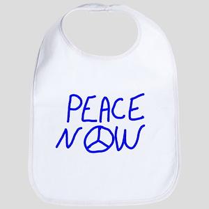 PEACE NOW Baby Bib
