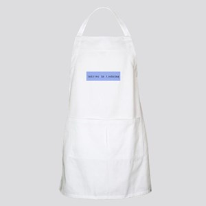 Knitter In Training BBQ Apron