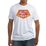 Omelette Man Fitted T-Shirt