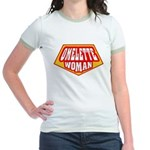 Omelette Woman Jr. Ringer T-Shirt