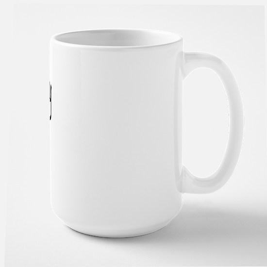 I LOVE MY Jindo Large Mug