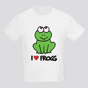 I Love Frogs Kids T-Shirt