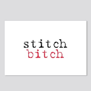 Stitch Bitch Postcards (Package of 8)