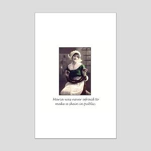 Make a Skein in Public Mini Poster Print