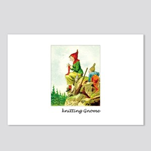 Knitting Gnome Postcards (Package of 8)