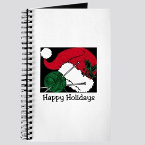 Knitting - Happy Holidays Journal