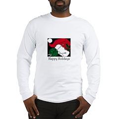 Knitting - Happy Holidays Long Sleeve T-Shirt
