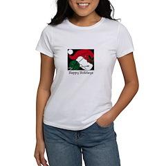 Knitting - Happy Holidays Women's T-Shirt