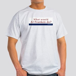 Ash Grey T-Shirt: Al Franken What