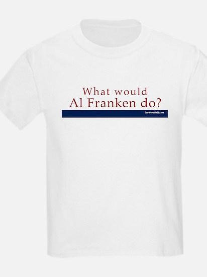 Kids T-Shirt: Al Franken What