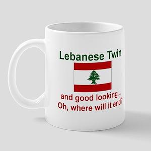 Lebanese Twin-Good Looking Mug