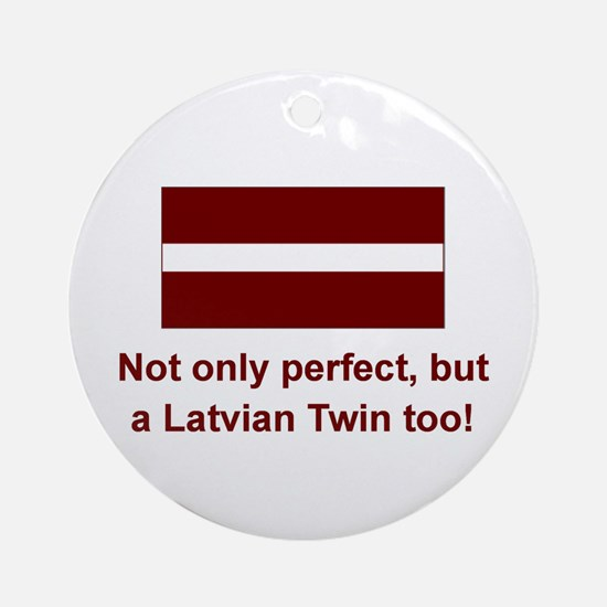 Latvian Twin-Perfect Keepsake Ornament