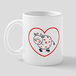 lil love cow Mug