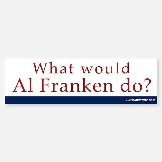 Bumper Sticker: Al Franken What