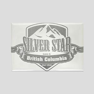 Silver Star British Columbia Ski Resort 5 Magnets
