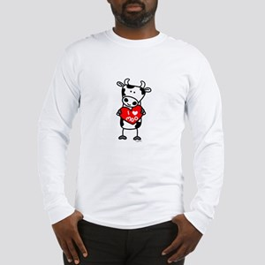 I Love Moo Cow Long Sleeve T-Shirt