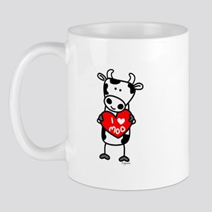 I Love Moo Cow Mug