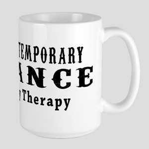 Contemporary Dance My Therapy Large Mug