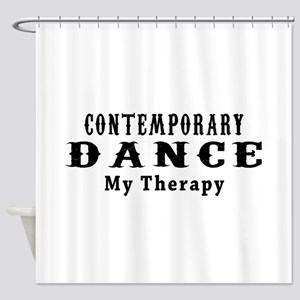 Contemporary Dance My Therapy Shower Curtain