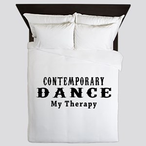 Contemporary Dance My Therapy Queen Duvet