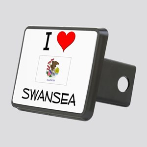I Love SWANSEA Illinois Hitch Cover