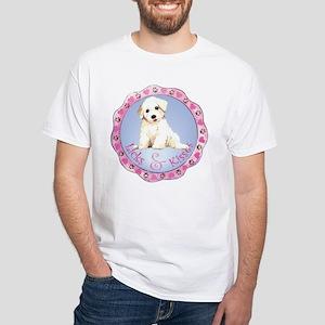 Bichon Valentine White T-shirt