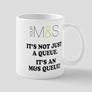 MARKS SPENCER PARODY - QUEUES Mugs