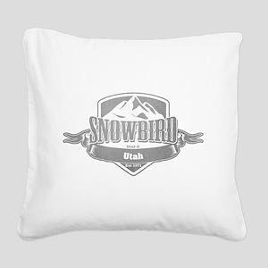 Snowbird Utah Ski Resort 5 Square Canvas Pillow