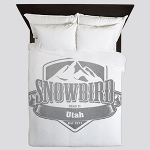 Snowbird Utah Ski Resort 5 Queen Duvet