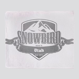 Snowbird Utah Ski Resort 5 Throw Blanket