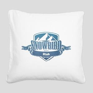 Snowbird Utah Ski Resort 1 Square Canvas Pillow