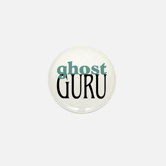 Ghost Guru Mini Button